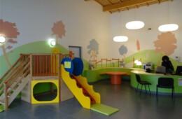 Décor peint intérieur Crèche de Cluses Haute Savoie