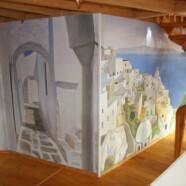 Fresque intérieure