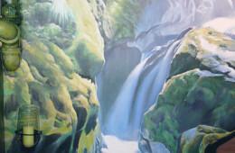 Décor cascade