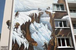 Fresque murale à Annecy le Vieux