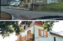 Décor peint maison avant / après